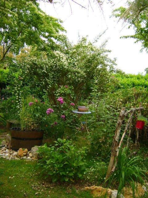 Ancien jardin jardin de luchane - Bassin ancien de jardin orleans ...