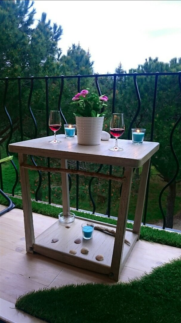 mes r alisations un balcon en bord de mer argeles 66 jardin de luchane. Black Bedroom Furniture Sets. Home Design Ideas